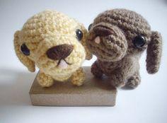 Dachshund Puppies by ~possumsloveart (Artisan Crafts / Dolls, Plushies & Custom Toys / Amigurumi)