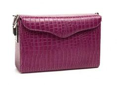 $25.99    Rose Crocodile pattern Crossbody PU Leather Bag