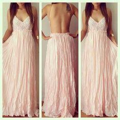 How to Chic: SUMMER BOHO MAXI DRESS
