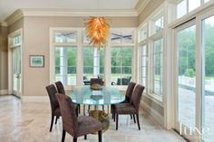 Traditional Neutral Dining Room