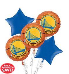 Golden State Warriors Balloon Bouq...