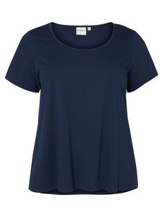 Junarose T-Shirt Jersey- blau
