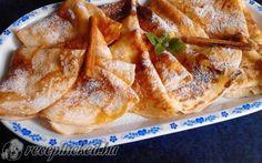 Almás-fahéjas palacsinta recept fotóval