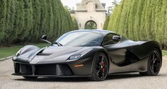 "Illusions Vinyl Fence Classic Car Pick: OK, so it's not a ""classic car,"" per se, but seriously... It's a CLASSIC CAR! Wow! A 2014 Ferrari LaFerrari hybrid supercar. Matching Grand Illusions Color Spectrum PVC Vinyl fence color? Black (L105) obviously! #awesomecar"