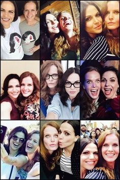 Lana and Bex! Hate each other on the show, but they are like real sisters in reality! #SaveHook #OnceUponATime #ouat