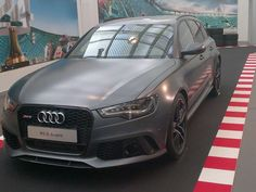 RS6 Spoiler Front Carbon Look