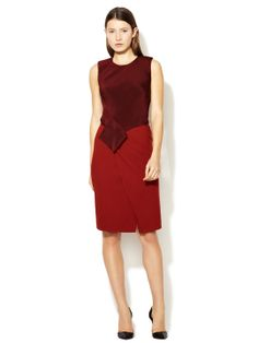 Silk Origami Fold Dress by Narciso Rodriguez at Gilt $.799