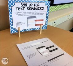 The Brown-Bag Teacher: Open House Stations