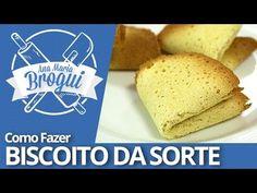 Biscoito da Sorte Bread, Food, Fortune Cookie, How To Make Crackers, Brot, Essen, Baking, Meals, Breads