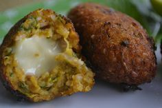Quibe de abóbora com recheio de Queijo Vegetal caseiro - Vegan Recipe - Regeitas vegeratianas - Receitas Veganas - Lactose Free