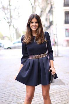 trendy_taste-look-outftit-street_style-oot-fashion_spain-moda_españa-blog-blogger-parka_verde-military-cinturón_dorado-golden_belt-black_dre...