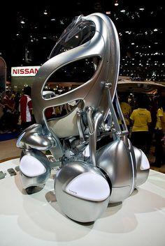 Toyota i-Unit concept car by Cedric Favero, via Flickr