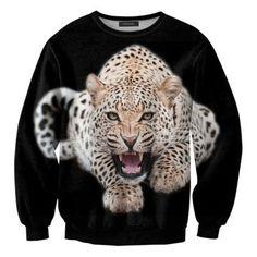 cat fan?    スウェットシャツ/ Leopard by Mr.GUGU & Miss GO