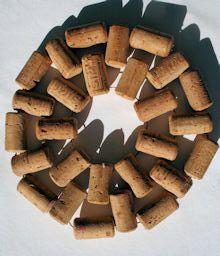 circular cork trivet