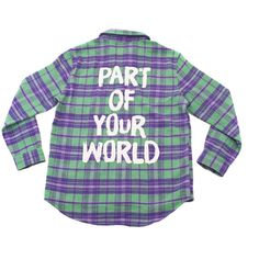 ead9e0d18d2 Disneybound x Cakeworthy Part of Your World Flannel Jacket