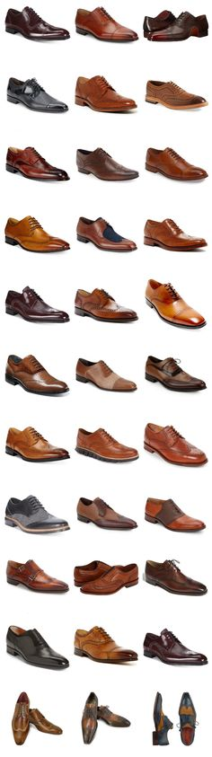 I've always been a big fan of this type of shoes, so I decided to make a list with 33 Pairs Of Oxfords I like the most.