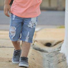5ba9cacb98 Boardwalk Shorts. Distressed ShortsBoy ShortsDenim ShortsShort  OutfitsTrendy OutfitsBaby Boy OutfitsKids ...
