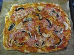 kvásková pizza