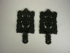 These have a hook on the front for a towel or potholder. EBSVintageHome
