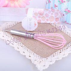 """The Perfect Mix"" Pink Kitchen Whisk BeterWedding Wholesale #weddingsouvenirs #weddingfavors #weddingdoorgifts #crafts #BeterWedding"