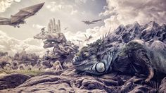 Find more inspiring photomanipulations at our gallery! http://www.advancedphotoshop.co.uk/image/55018/dragonland