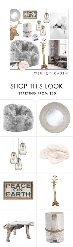"""""""Winter"""" by hellodollface ❤ liked on Polyvore featuring interior, interiors, interior design, home, home decor, interior decorating, Comfort Research, Dot & Bo, DutchCrafters and Himalayan Trading Post"""