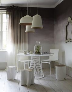 Room Swoon: Ombré and white | Life.Style.etc