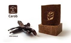 Natural Handmade soap with Carob