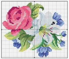 Jeans-Jacke mit Blumen - Handmade Kultur