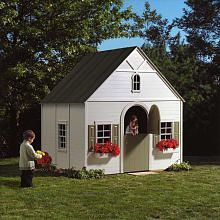 playhouse I can't wait to build one for my angel, and hand paint the outside