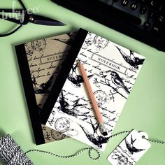 Inky Co. Letters from Paris Notebooks