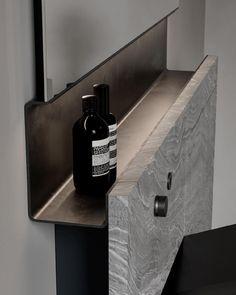 Bathroom Spa, Bathroom Toilets, Small Bathroom, Modern Bathroom, Detail Architecture, Interior Architecture, Modern Interior Design, Luxury Interior, Toilet Design