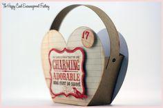 Valentine Heart Basket - Happy Card Factory