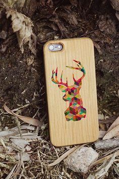 hipster custom wood case