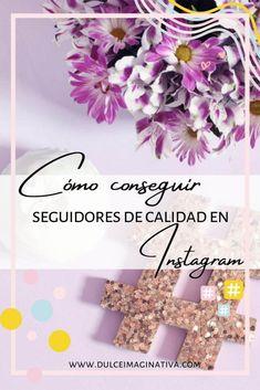 Cómo conseguir seguidores de calidad en Instagram Tips Instagram, Crown, Sweet, Corona, Crowns, Crown Royal Bags