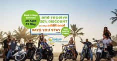 Book a 4-night stay between Monday & Friday over Bike Fest 20 April – 1 May 2020 and receive a 20% discount on any additional days you stay! Comedy Show, Holiday Apartments, Monday Friday, Stay The Night, Upcoming Events, Cool Bikes, The Locals, Coast, How To Apply