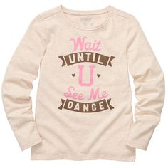 I am so excited about getting this shirt! It is the perfect shirt for my daughter!