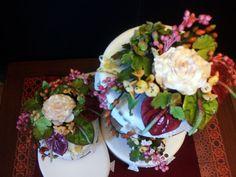 antharium wedding cake