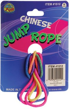 Chinese Jump Ropes Case Pack 7