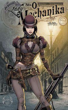 Lady Mechanika Comic by Joe Benitez