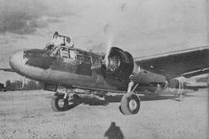 Japanese Mitsubishi bomber (Type at an airfield, getting ready to go on a sortie. The Allies had a calling name for it: Navy Aircraft, Ww2 Aircraft, Fighter Aircraft, Aircraft Carrier, Military Aircraft, Fighter Jets, Imperial Japanese Navy, Korean War, World War Ii