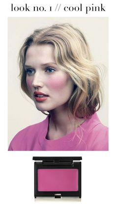 rosy cheeks :: cool pink blush