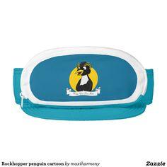 Rockhopper penguin cartoon visor