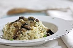 cauliflower millet mash with a mushroomgravy - what's cooking good looking - a healthy, seasonal, tasty food and recipe journal