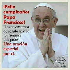 Resultado de imagem para feliz cumpleaños Papa Francisco
