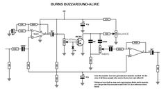 Here is another one for you, the sought after Burns Buzzaround fuzz pedal: Full on uber-fuzz researched and revealed by a number of sto. Guitar Effects Pedals, Guitar Pedals, Music Guitar, Guitar Chords, Diy Amplifier, Electronics Basics, Electronic Shop, Electrical Projects, Electronic Engineering
