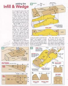 #319 Custom Infill Block Plane - Hand Tools Tips and Techniques