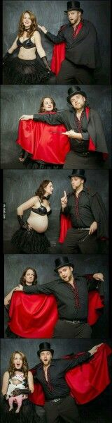 The magic behind pregnancy.- I would never do this I just think its hilarious haha