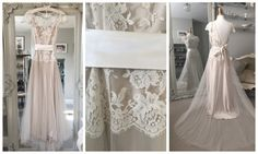 Kate Halfpenny 'Iris' £1795 #katehalfpenny #designerweddingdress #prelovedweddingdress #laceweddingdress #bride #bridetobe #wedding #weddingdress #londonbride #surreybride #teddington #richmond
