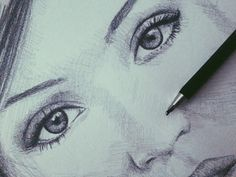 #drawing #face #pencil